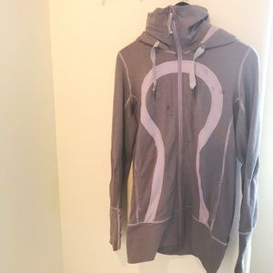 LuLuLemon Striker Full Zip Jacket W/Hood